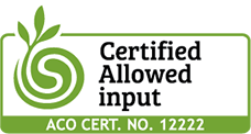 Certified Allowed input