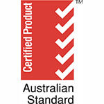 Australian Standard Certified Product (Red)