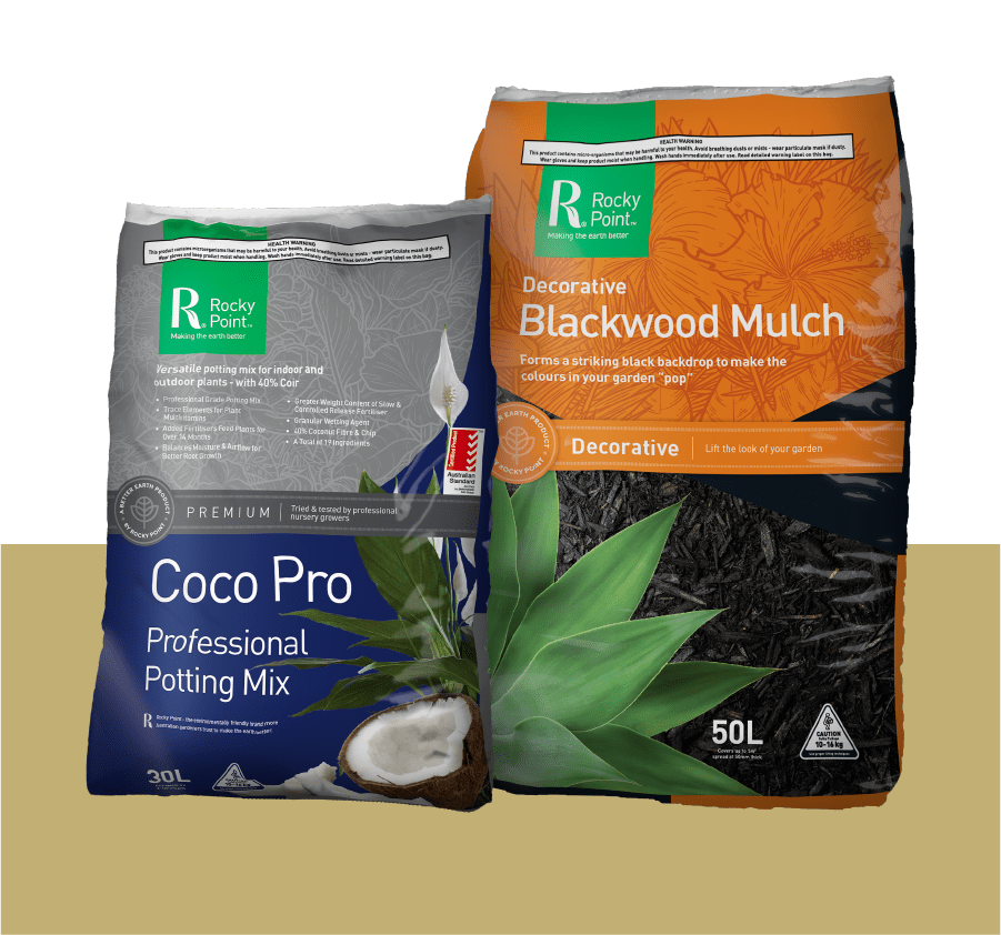 coco pro and Blackwood mulch